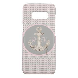 Capa Case-Mate Samsung Galaxy S8 âncora feminino da viga cor-de-rosa formal náutica