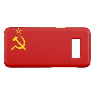 Capa Case-Mate Samsung Galaxy S8 Bandeira de URSS