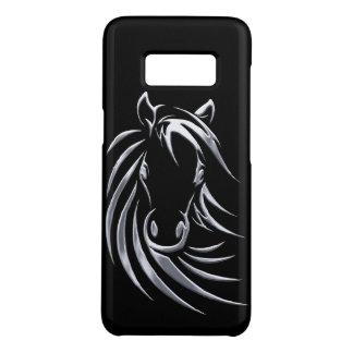 Capa Case-Mate Samsung Galaxy S8 Cabeça de cavalo de prata