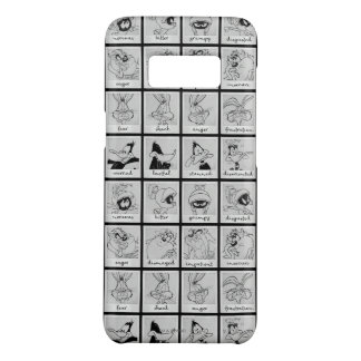 Capa Case-Mate Samsung Galaxy S8 Carta LOONEY da emoção do caráter de TUNES™