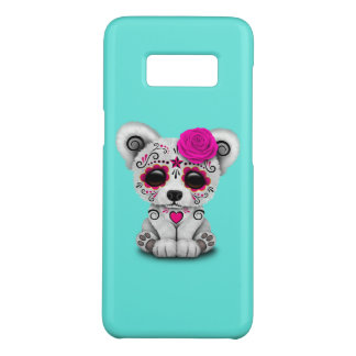 Capa Case-Mate Samsung Galaxy S8 Dia cor-de-rosa do urso polar do bebê inoperante
