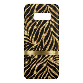 Capa Case-Mate Samsung Galaxy S8 Estilo chamativo do monograma da zebra