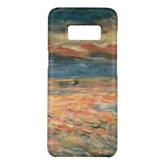 Capa Case-Mate Samsung Galaxy S8 Por do sol no mar por Pierre Renoir, belas artes