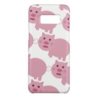 Capa Case-Mate Samsung Galaxy S8 Porco cor-de-rosa tímido