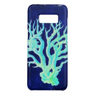 Capa Case-Mate Samsung Galaxy S8 Recife de corais azul beachy chique litoral
