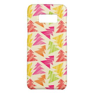 Capa Case-Mate Samsung Galaxy S8 Teste padrão esboçado colorido das árvores de