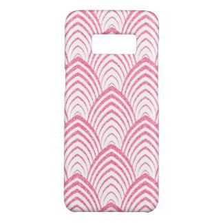 Capa Case-Mate Samsung Galaxy S8 Teste padrão geométrico do art deco cor-de-rosa &