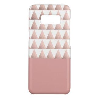 Capa Case-Mate Samsung Galaxy S8 teste padrão geométrico dos triângulos do ouro