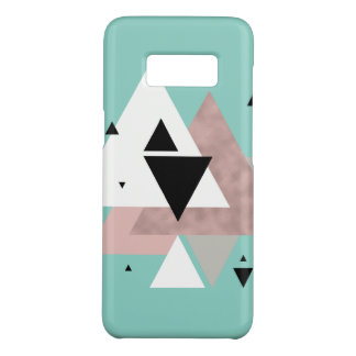 Capa Case-Mate Samsung Galaxy S8 triângulos geométricos da hortelã cor-de-rosa