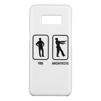 Capa Case-Mate Samsung Galaxy S8 Um Normal você contra um zombi do arquiteto
