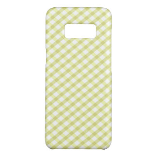 Capa Case-Mate Samsung Galaxy S8 Xadrez/verde limão Checkered