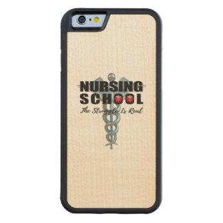 Capa De Bordo Bumper Para iPhone 6 A escola de cuidados o esforço é real