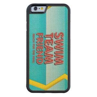 Capa De Bordo Bumper Para iPhone 6 Amigo SUPERIOR da natação