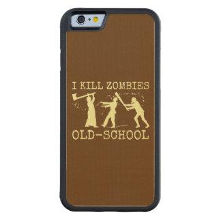Capa De Bordo Bumper Para iPhone 6 Caçador retro engraçado do assassino do zombi da