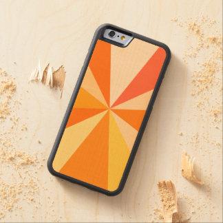 Capa De Bordo Bumper Para iPhone 6 Raios 60s geométricos Funky modernos do pop art na