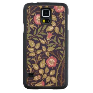 Capa De Bordo Para Galaxy S5 Arte floral Nouveau do Briar doce de William