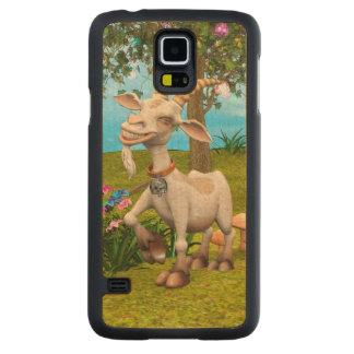 Capa De Bordo Para Galaxy S5 Cabra feliz