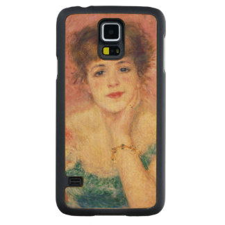 Capa De Bordo Para Galaxy S5 Pierre um retrato de Renoir   de Jeanne Samary