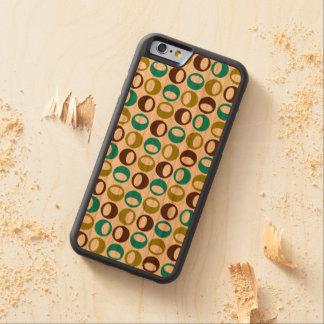 Capa De Cerejeira Bumper Para iPhone 6 Caixa moderna retro da madeira da cereja do iPhone