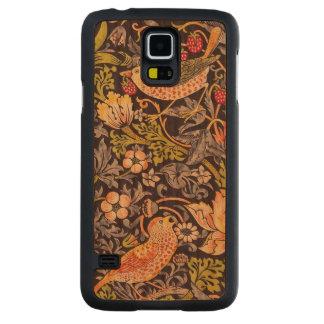 Capa De Cerejeira Para Galaxy S5 Arte floral Nouveau do ladrão da morango de
