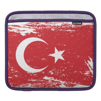 Capa De iPad Bandeira de Turquia do Grunge