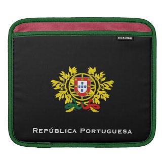 Capa De iPad Costa de Portugal do iPad & da bolsa de laptop dos