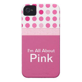 Capa de iphone 4 femininos cor-de-rosa capas iPhone 4 Case-Mate