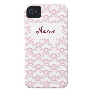Capa de iphone 4 femininos cor-de-rosa e teste