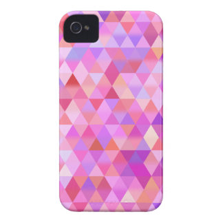 Capa de iphone 4 geométrico cor-de-rosa do capa para iPhone