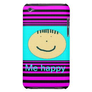 capa de ipod com cara feliz