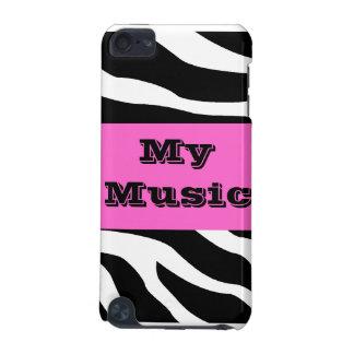 Capa de ipod da música da zebra