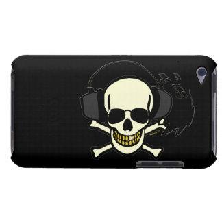 Capa de ipod do crânio da música capa iPod touch Case-Mate