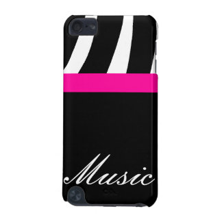 Capa de ipod do speck da música da zebra