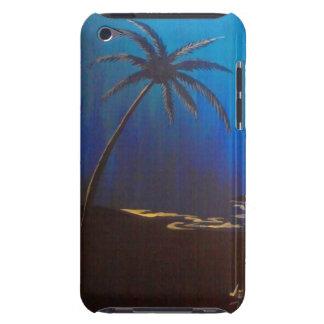 Capa de ipod original da silhueta da palmeira