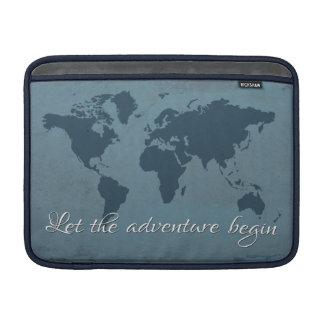 Capa De MacBook Air Deixe a aventura começar