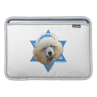 Capa De MacBook Estrela de David de Hanukkah - caniche - abricó