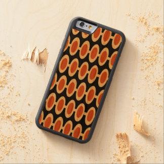 Capa De Madeira Cerejeira Bumper Para iPhone 6 Caixa moderna retro da madeira do iPhone 6/6S do