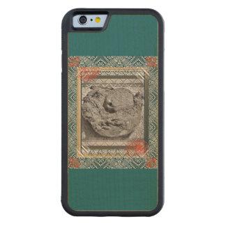 Capa De Madeira De Bordo Bumper Para iPhone 6 Caixa da madeira do iPhone do paraíso do coco