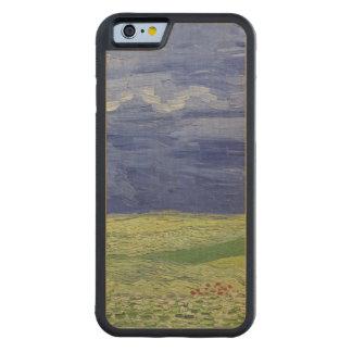 Capa De Madeira De Bordo Bumper Para iPhone 6 Wheatfields de Vincent van Gogh | sob o