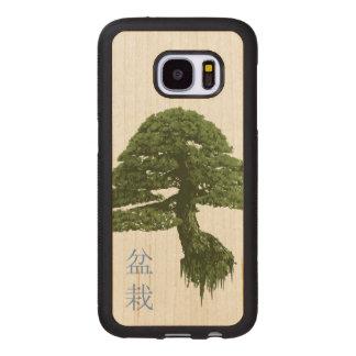 Capa De Madeira Para Samsung Galaxy S7 Caixa de madeira de flutuação da galáxia S7 da