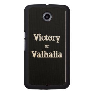 Capa De Madeira Para Telefone Presente da vitória ou do Valhalla