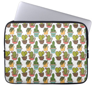 Capa De Notebook Cacto & Succulents internos no teste padrão dos