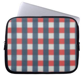 Capa De Notebook Cor quatro combinado - azul escuro azul vermelho