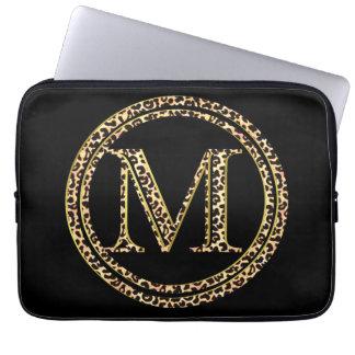 Capa De Notebook Leopardo M
