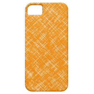 Capa de telefone amarela do iPhone 5 do teste