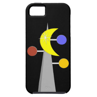 Capa de telefone atômica retro capas de iPhone 5 Case-Mate