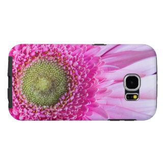 Capa de telefone cor-de-rosa da margarida do