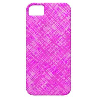 Capa de telefone cor-de-rosa do iPhone 5 do teste