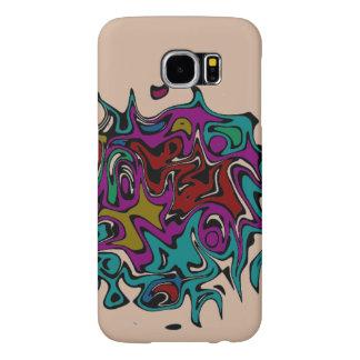 capa de telefone da arte abstracta