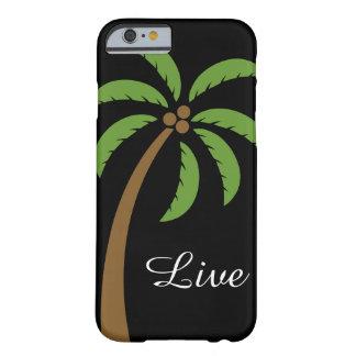 Capa de telefone da árvore de coco